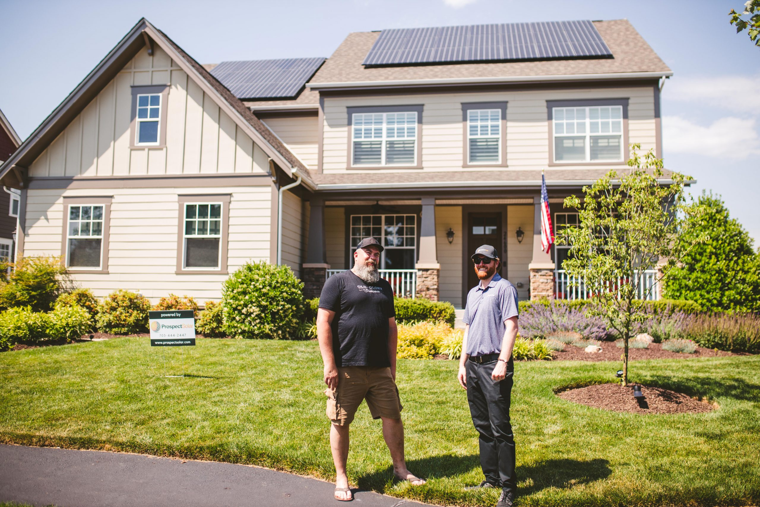 Image of Prospect Solar home installation