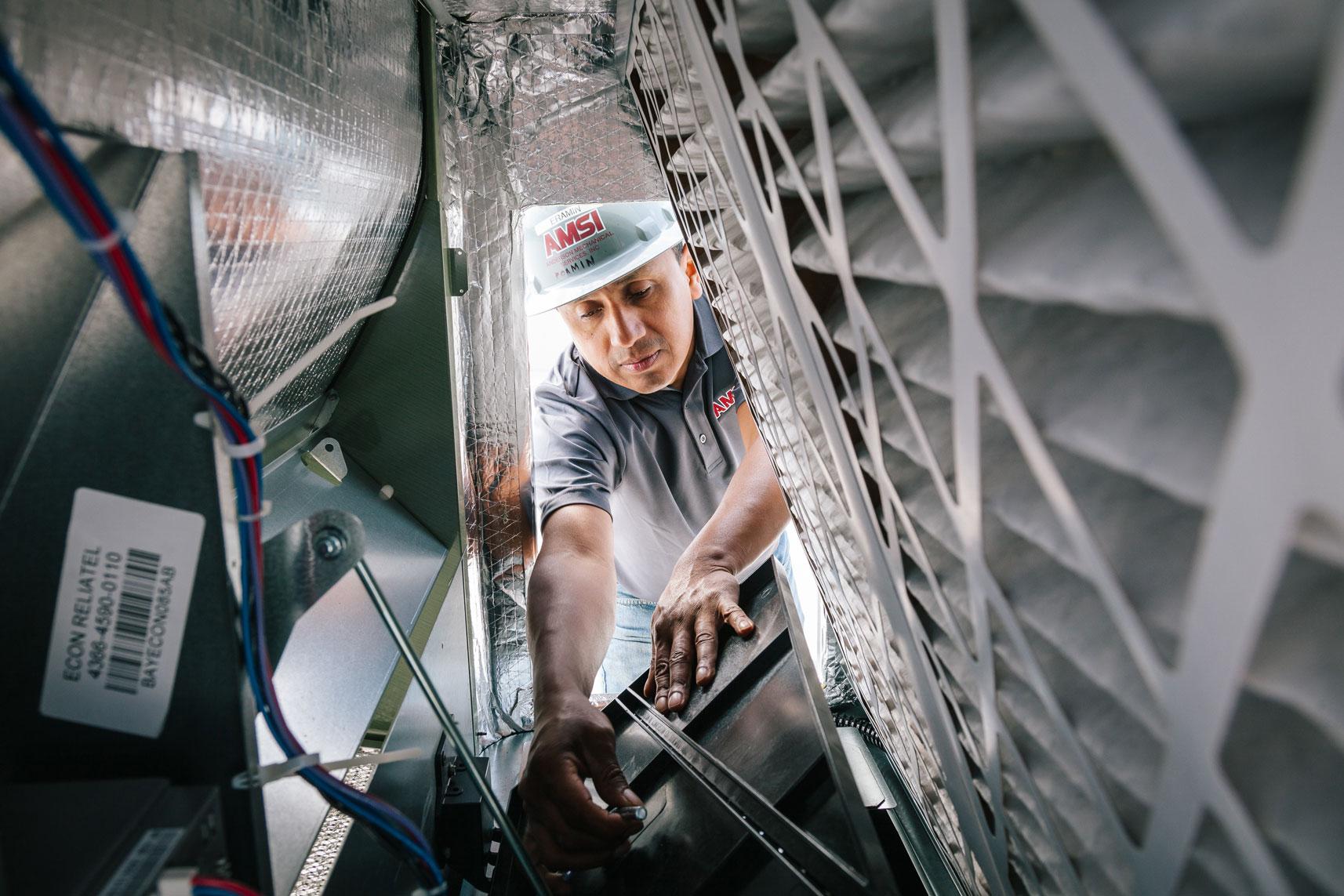 Image of AMSI team member HVAC Experts 4