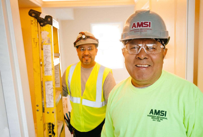 Image of AMSI Team HVAC Experts 5